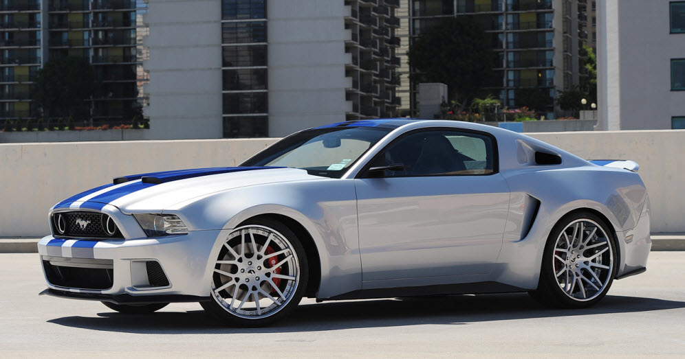 2015 Mustang s550 preview by Automobile says 6 engines including
