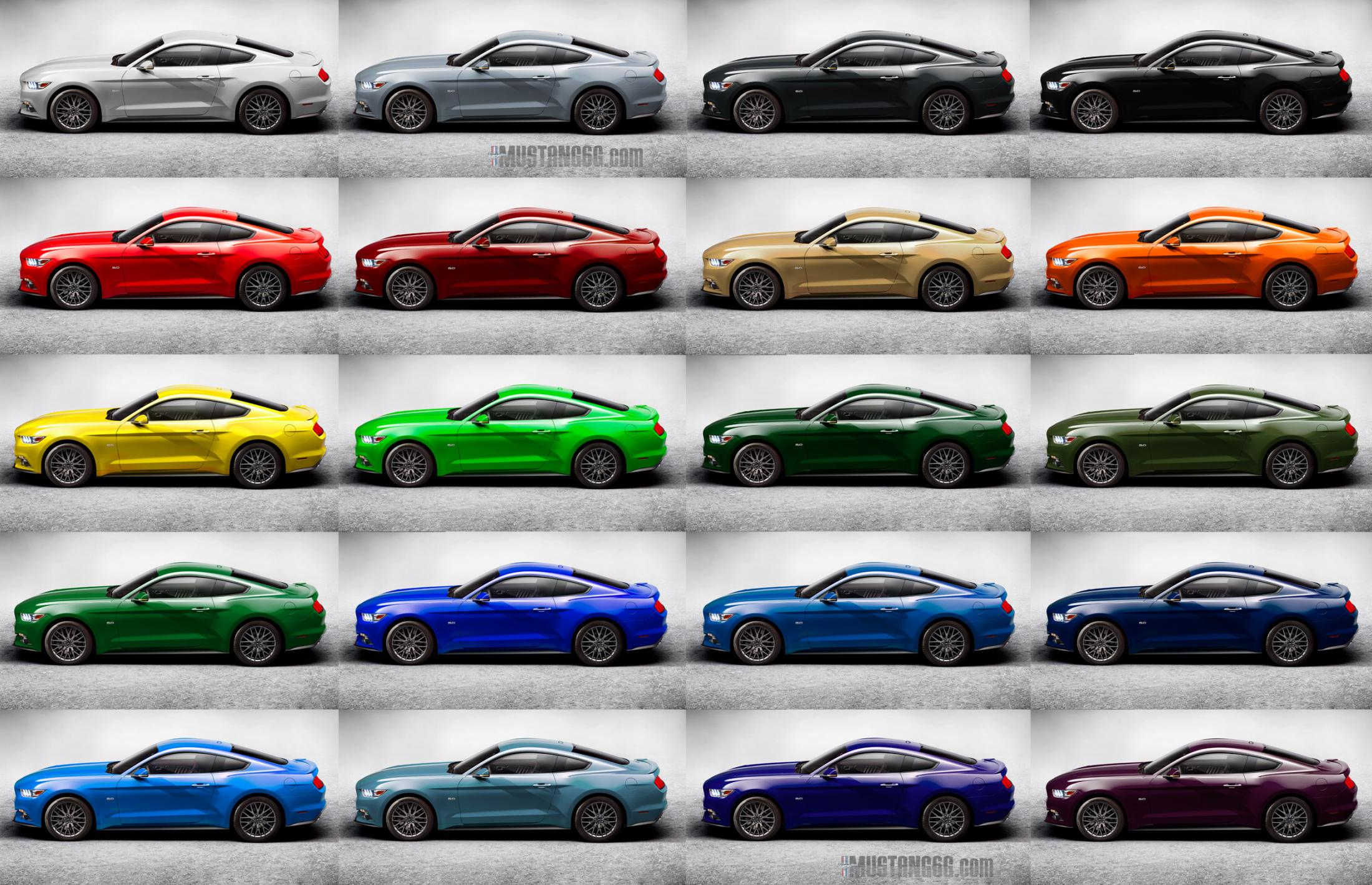 2015 Mustang Colors >> 2015 Mustang Introduction 12 5 2013 Page 5