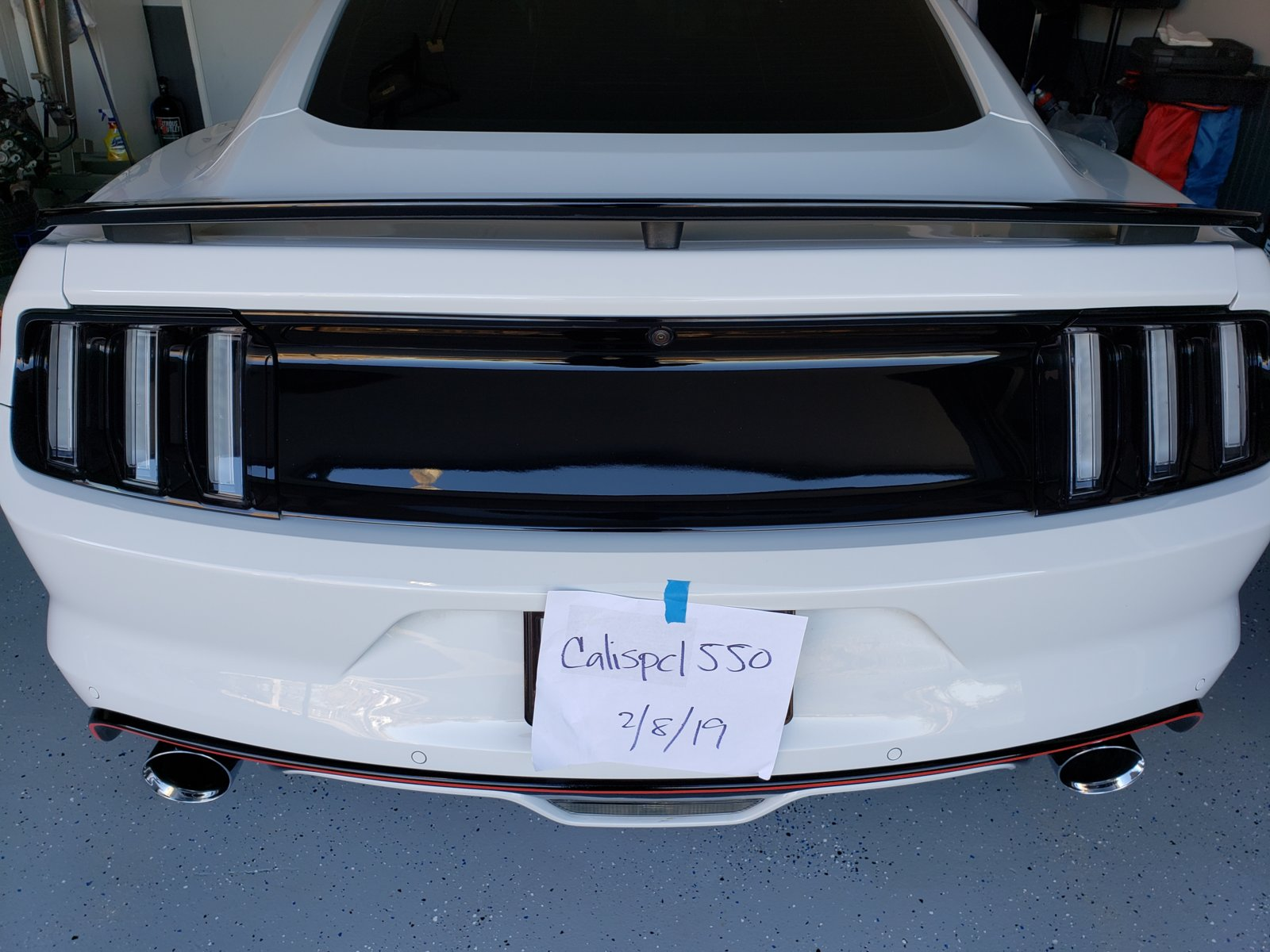 Gt 2015 2019 European Tail Lights Sold 2015 S550