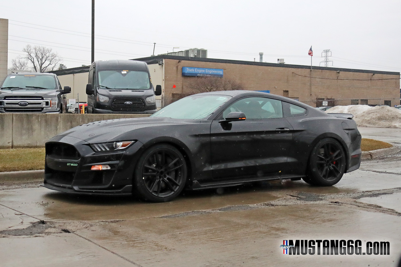 Ford Huntsville Al >> Black 2020 GT500 Mustang with Colored Emblem Spotted ...