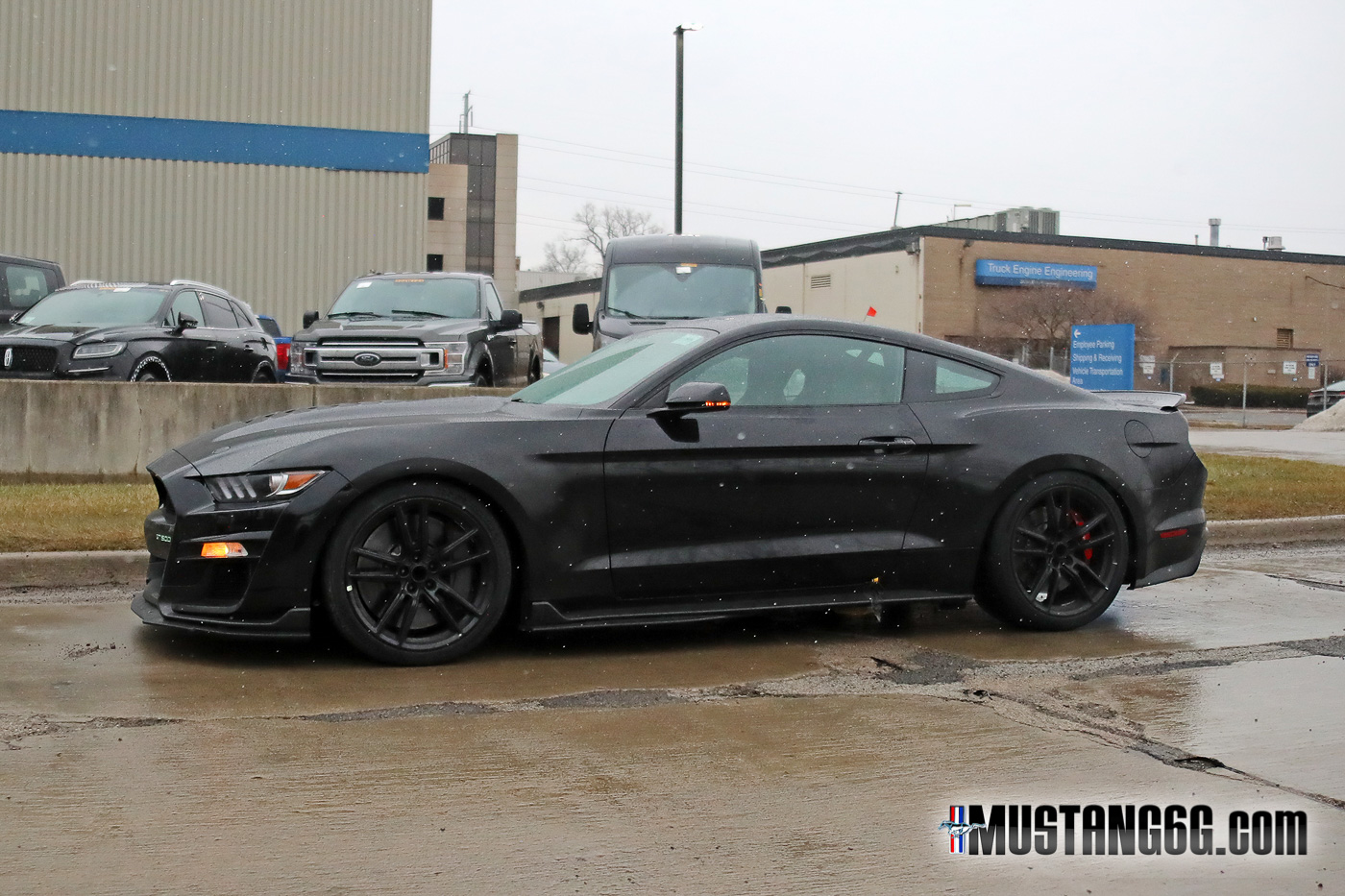 mustang gt500 shelby shadow gt bumper mustang6g bullitt dearborn spotted emblem testing colored s550 gt350 forums