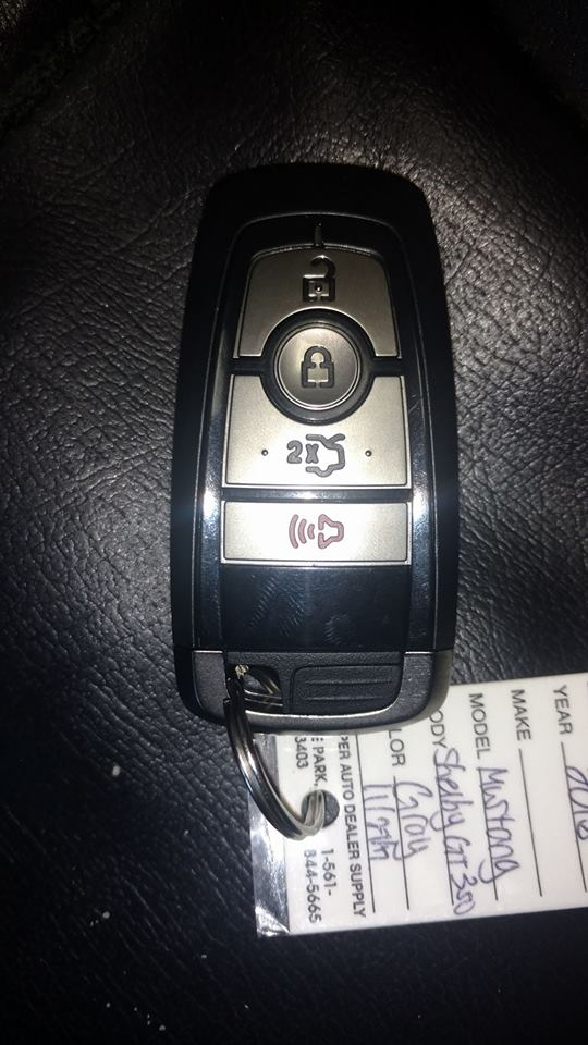 Ford Mustang Ecoboost >> NEW 2018 GT350 Key Fob facelift | 2015+ S550 Mustang Forum ...