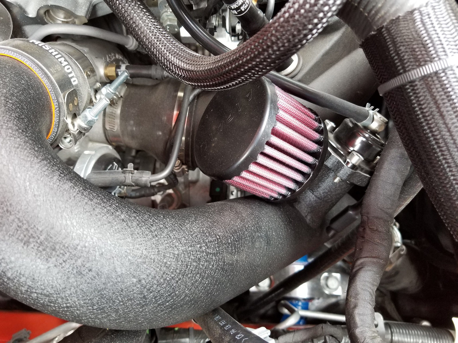 Vent to Atmosphere or BOV on European Mustang EcoBoost