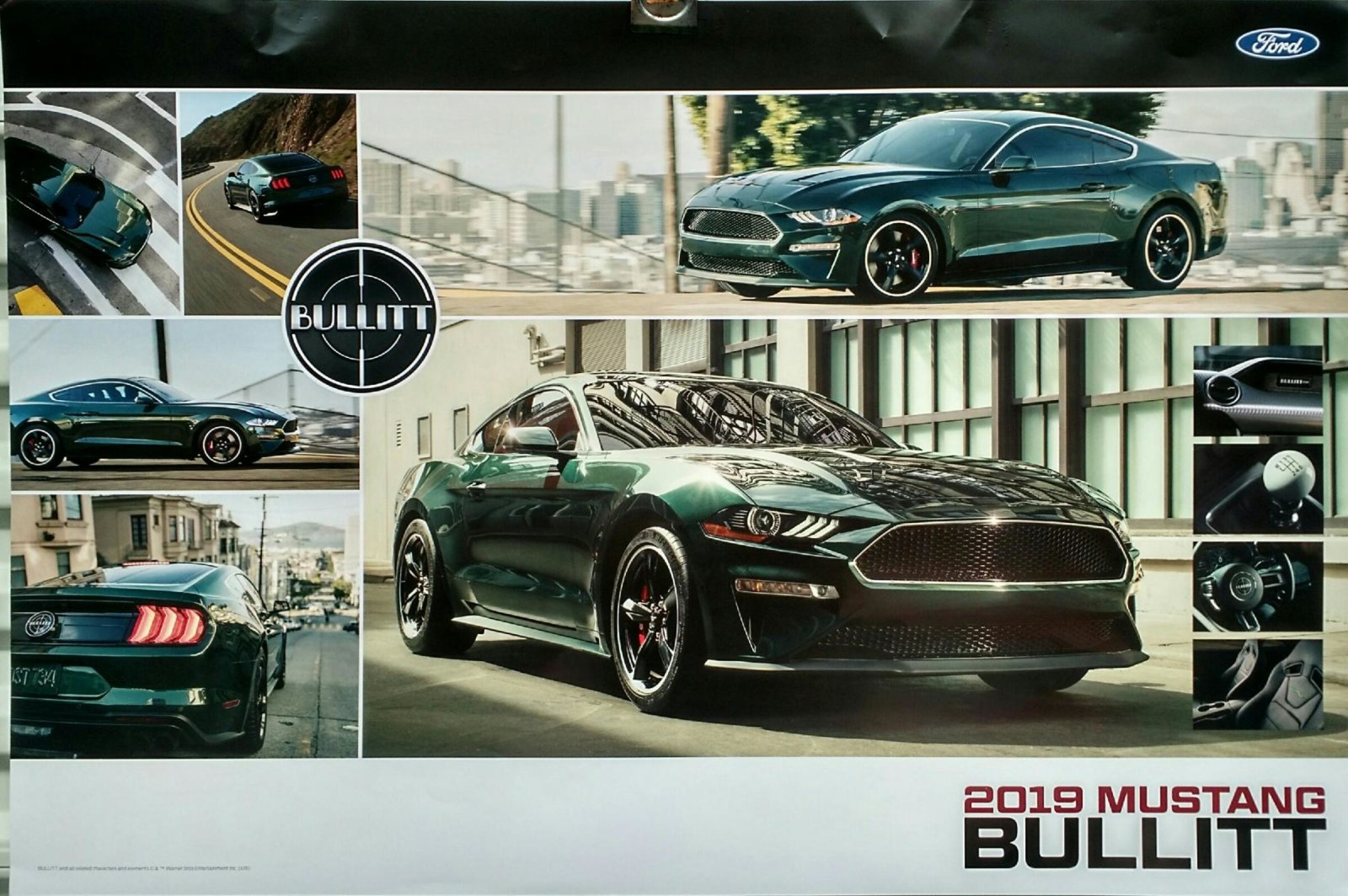 Ford Mustang Ultra Poster