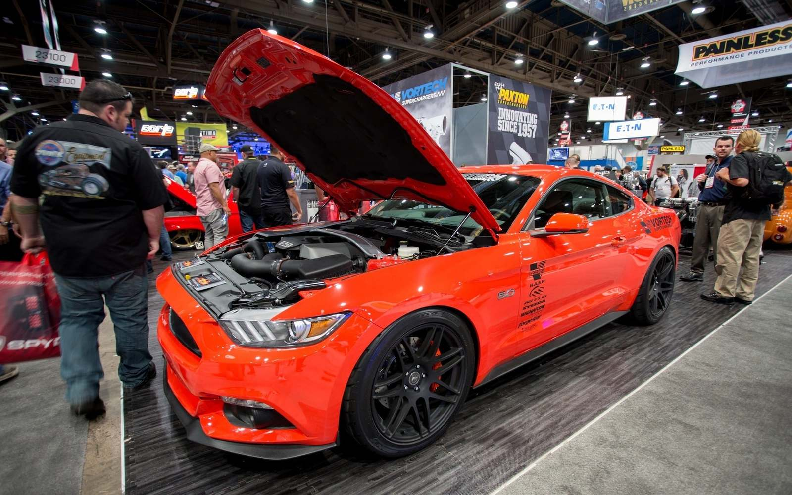 COMPETITION-ORANGE-FORD-MUSTANG-GT-FORGESTAR-F14-MATTE-BLACK-MESH-CONCAVE-ROTORY-FORGED-WHEELS.jpg