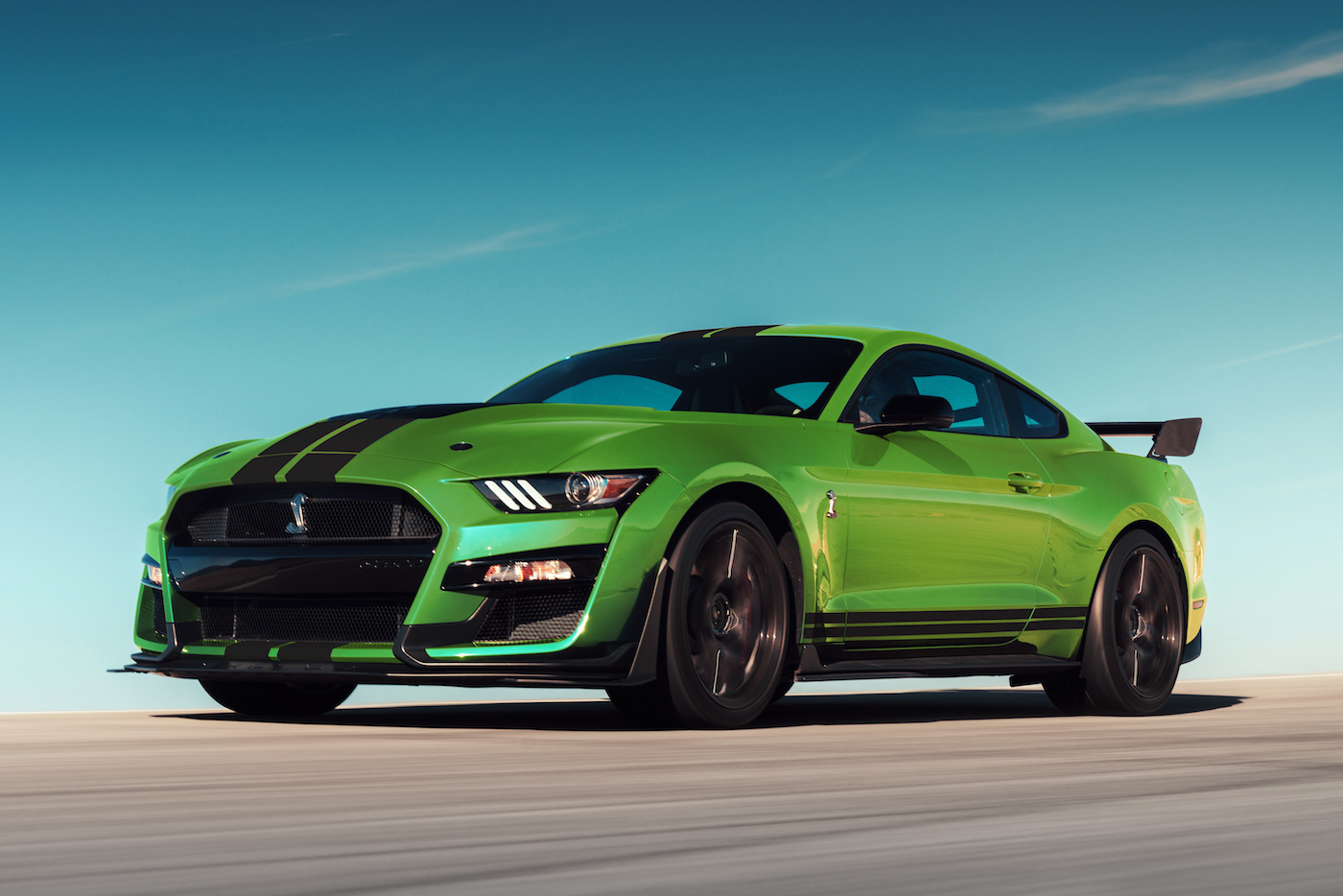 lime grabber mustang gt350 gt500 lineup revealed including gt ford mustang6g advertisement