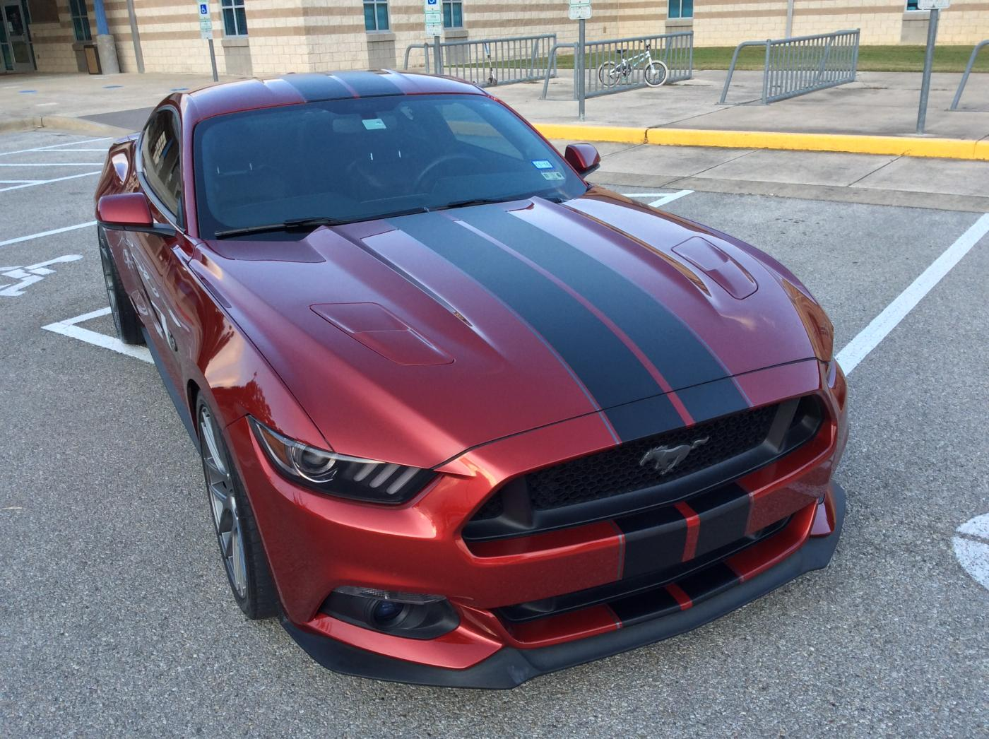2017 Black Mustang >> Really nice stripe setup for Ruby Red?? | 2015+ S550 ...