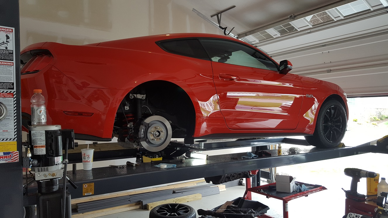Car Lifts? | 2015+ S550 Mustang Forum (GT, EcoBoost, GT350, GT500