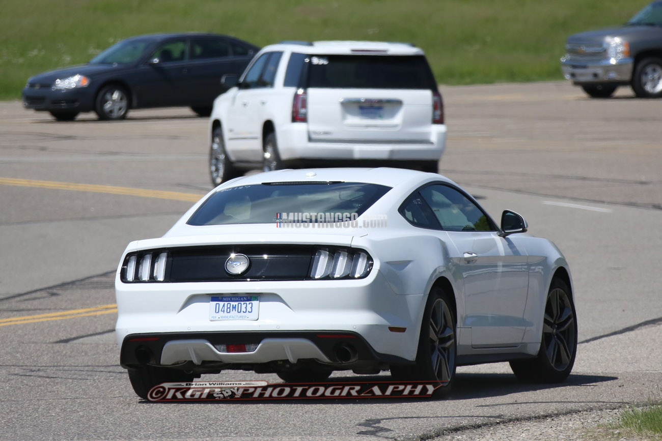 Euro Spec 2015 Mustang Spotted Again 2015 S550