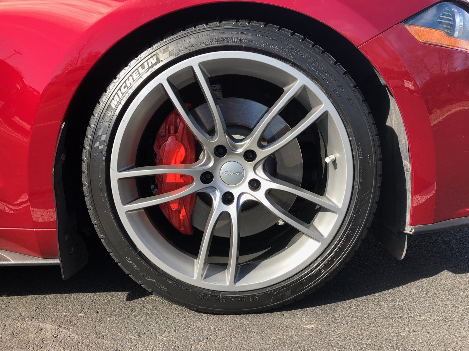 ruby-red-ford-mustang-gt-s550-mrr-m600-matte-gunmetal-concave-rotory-forged-wheels-1-jpg.jpg