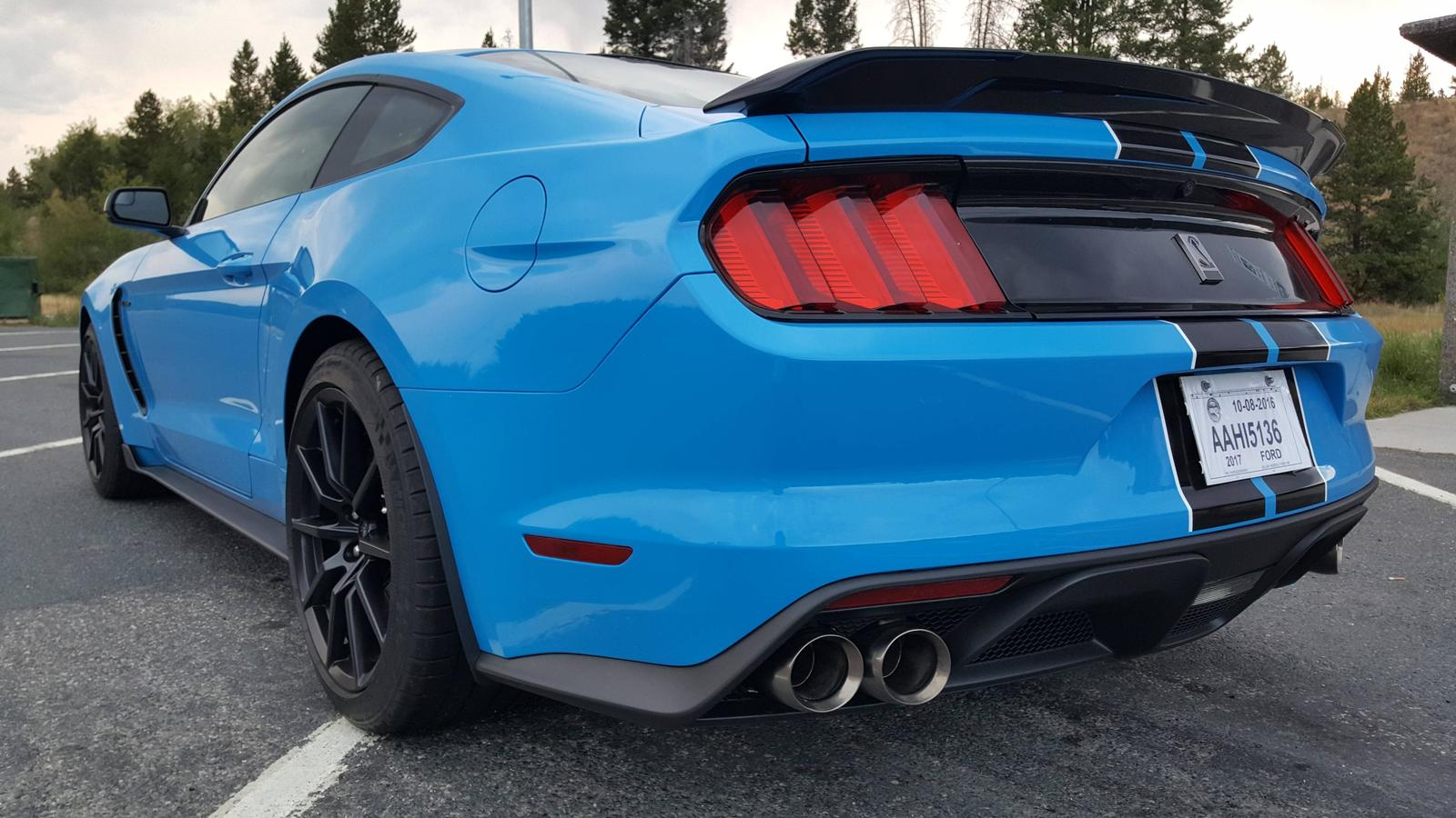 Fs 2017 Shelby Gt350 Grabber Blue Black Stripe 2015