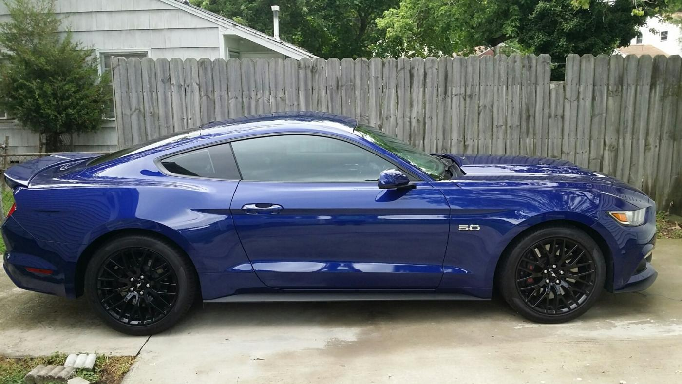 Roush hood scoop installed    Page 2   2015+ S550 Mustang Forum (GT