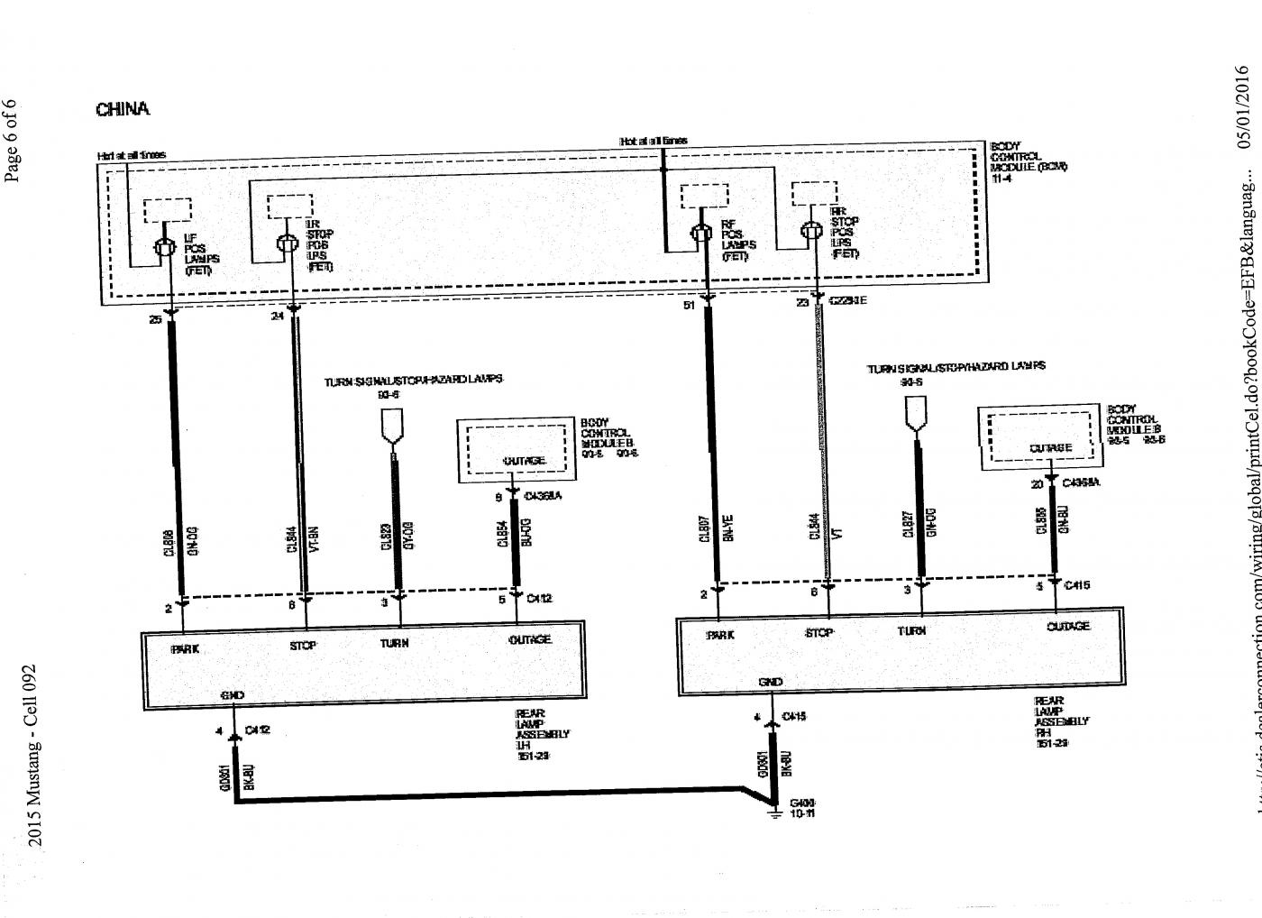 Wiring Diagram For Mustang