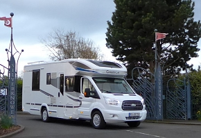 Mc Lane's Ford Transit Chausson Welcome 718 EB