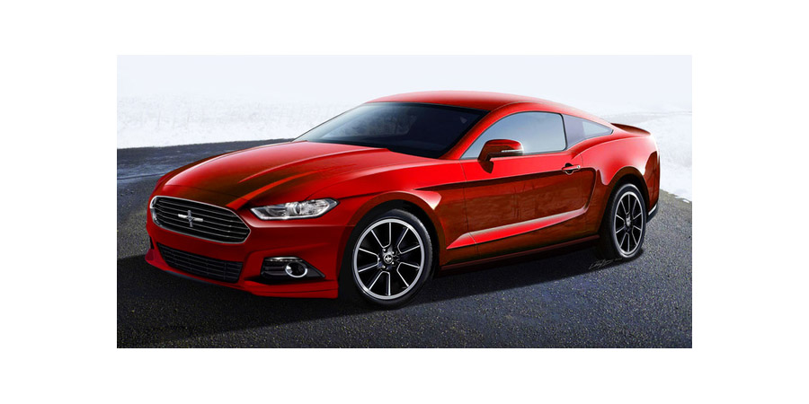 2015 mustang render - slacks