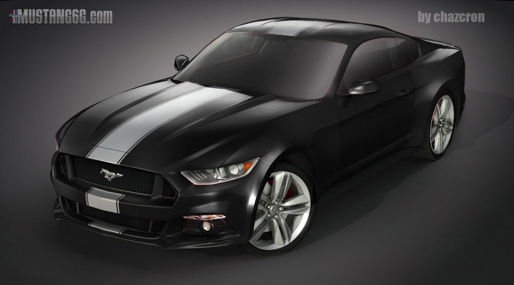 Ford mustang black cheap ford mustang in shadow black with ford fabulous ford mustang gt render by chazcron with ford mustang black sciox Choice Image