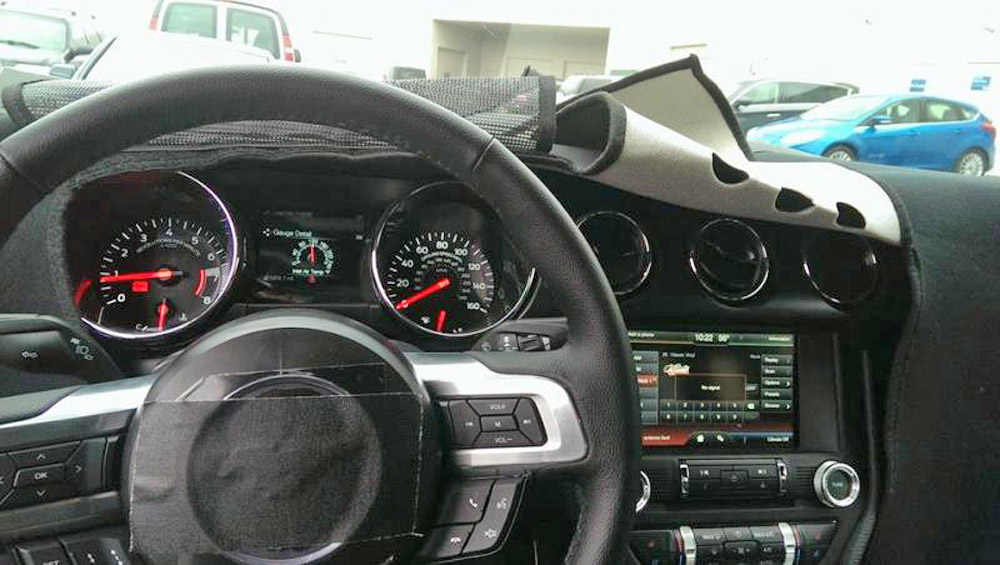 2015 mustang gauges and vents revealed 2015 mustang - 2013 mustang interior accessories ...
