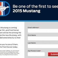 Ford Social 2015 Mustang