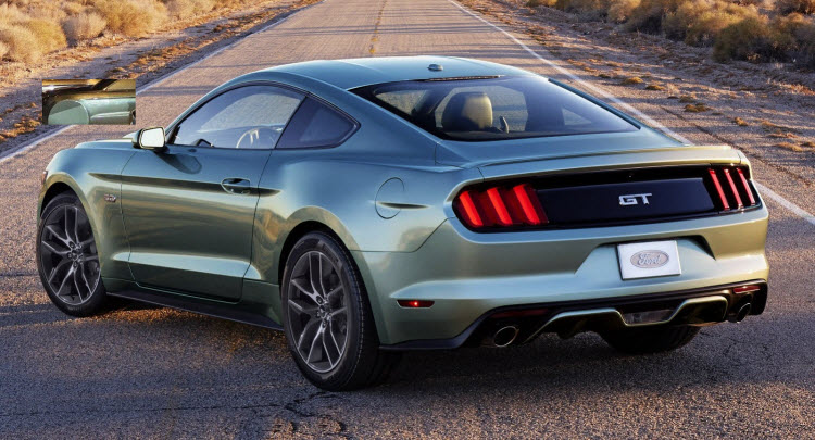 2015 Ford Mustang 5 Start Safety Rating