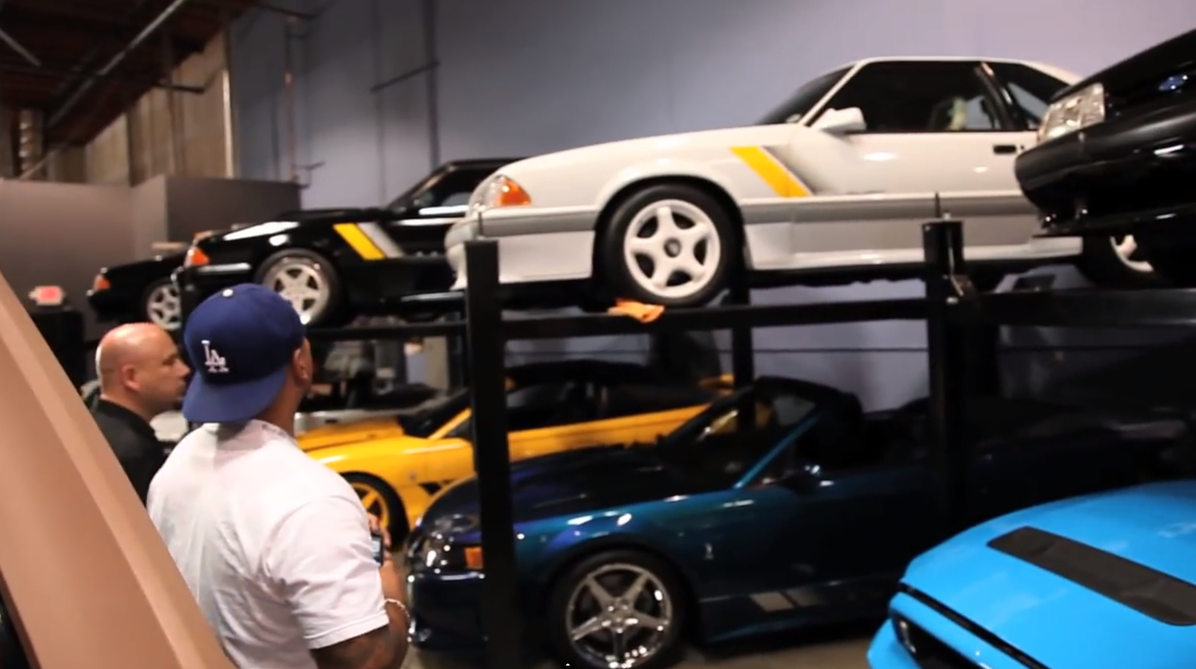 See Paul Walker S Impressive Mustang Collection 2015