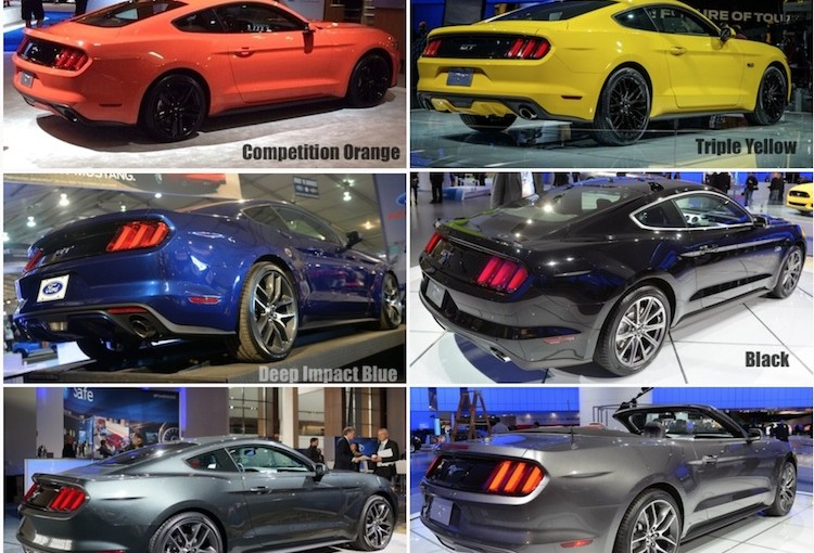 2015 mustang s550 colors compilation threads 2015 mustang