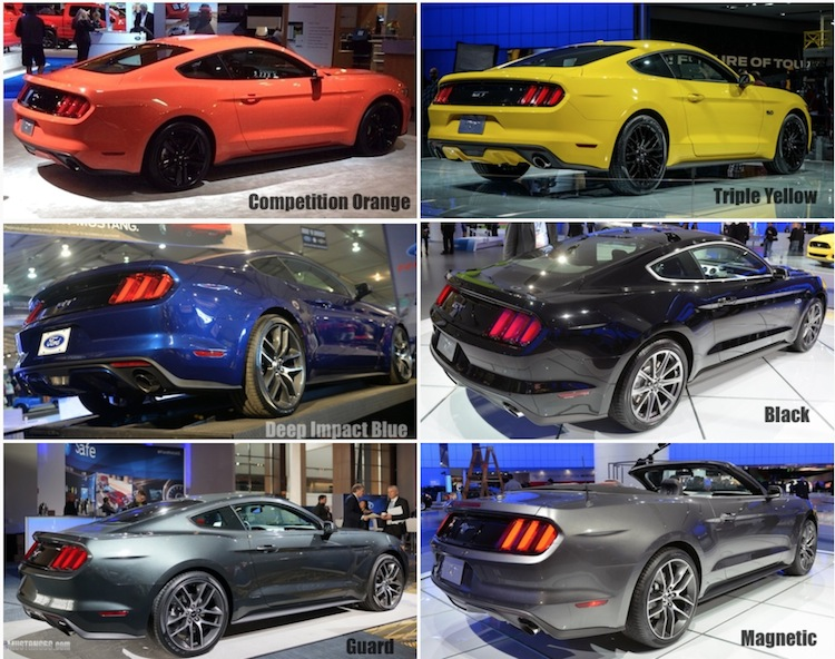 mustang6g 2015 mustang s550 colors compilation threads 2015