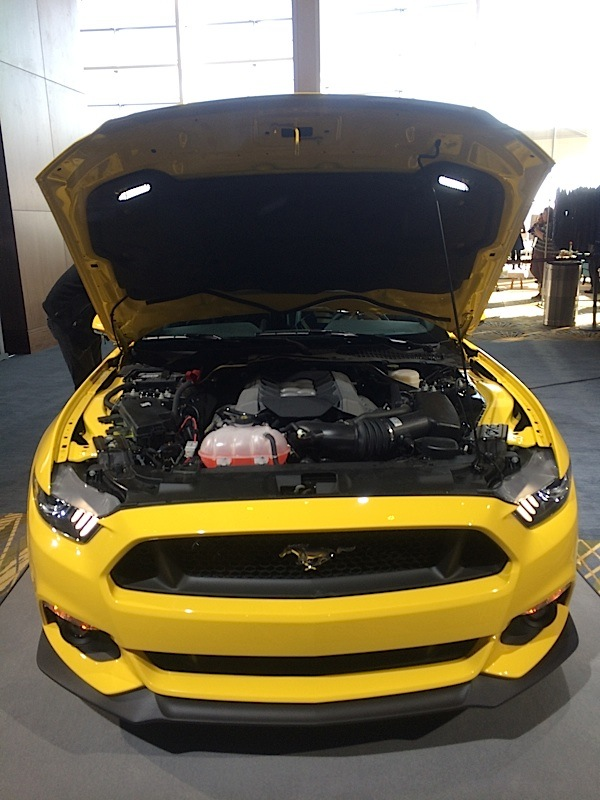 mustang gt engine bay revealed  mustang forum news blog  gt gt gt
