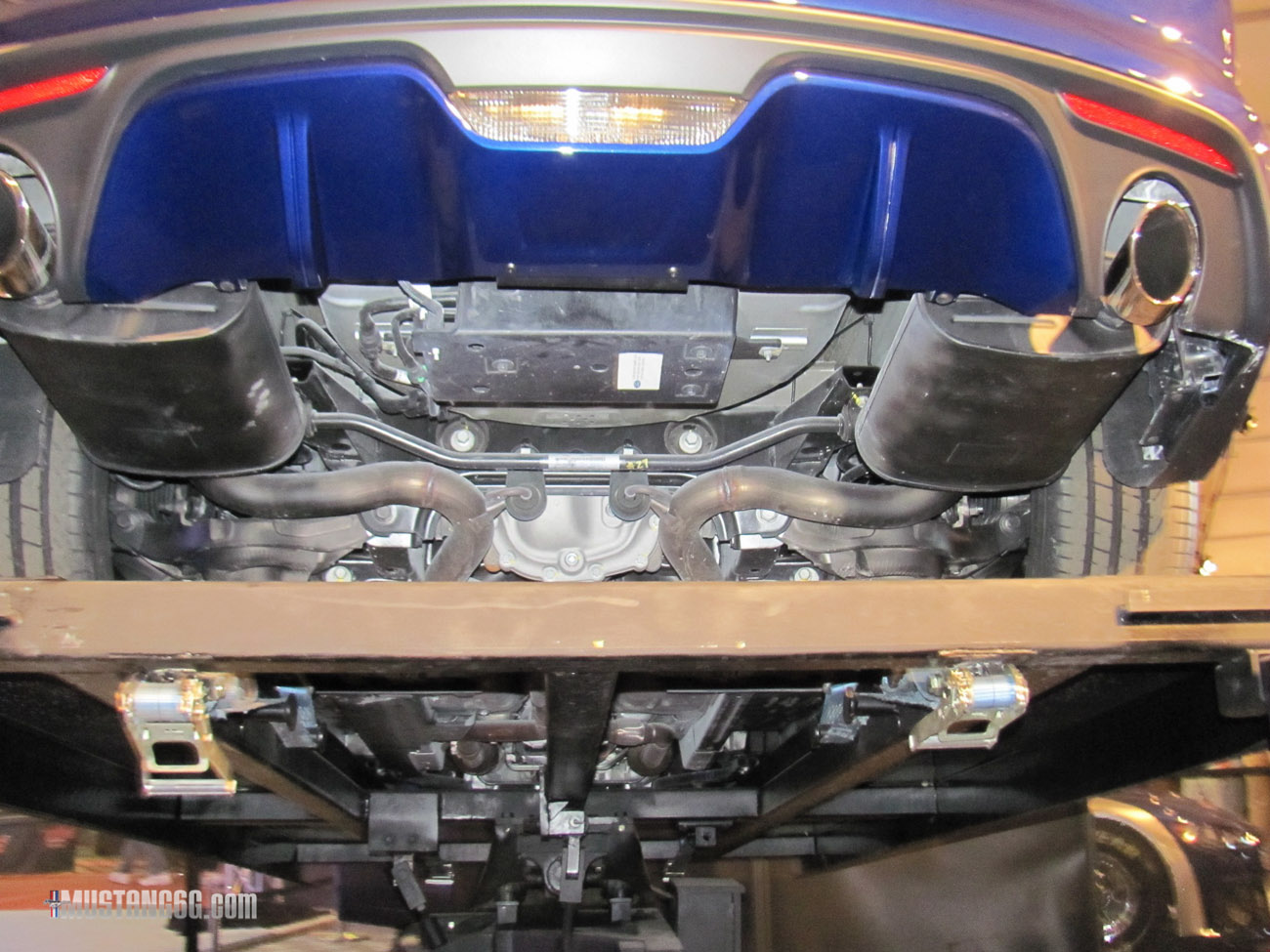 2016 Mustang V6 Exhaust >> More 2015 Mustang Undercarriage Photos | 2015+ Mustang Forum News Blog (S550 GT, GT350, GT500 ...