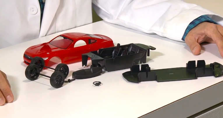 New Revell 2015 Ford Mustang Model Kit Giveaway At Detroit