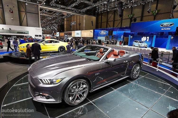 2015 Mustang Makes European Autoshow Debut at 2014 Geneva Motor.