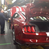 2015 Mustang Ruby Red