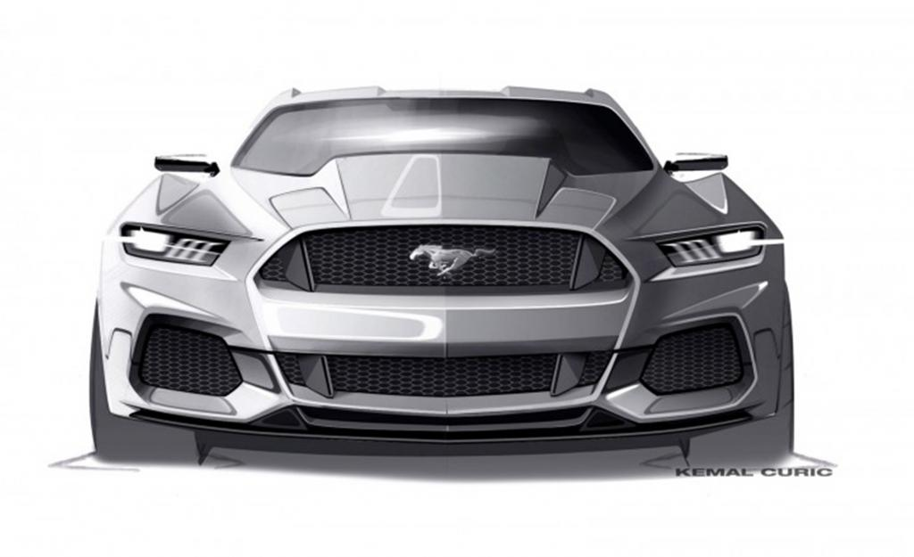 New 2015 Mustang Official Sketches And Interview With
