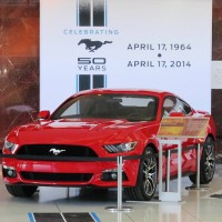 2015 Mustang GT Race Red - Ford World Headquarters