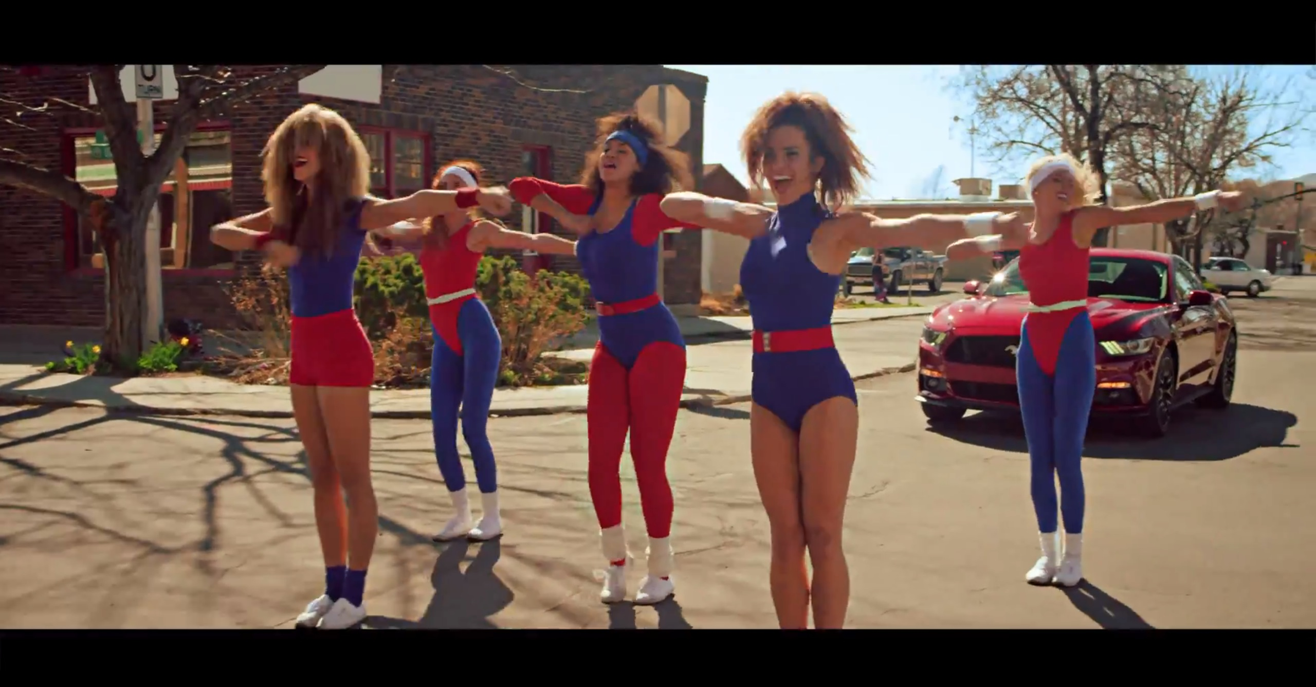 2015 Ford Mustang 80 S Aerobic Dance Battle Ad 2015