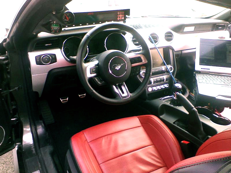 Some Looks At Red Line Leather Interior 2015 Mustang