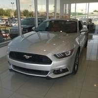 Ingot Silver 2015 Mustang