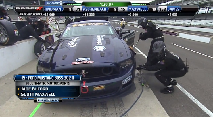 SVT Mustang GT350 Leaked in CTSC Broadcast