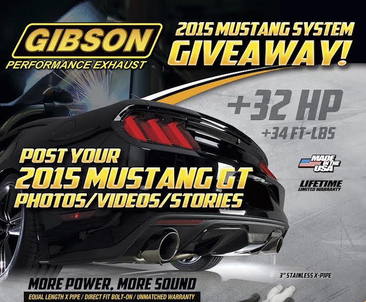 M6G Giveaway Contest: Win a GIBSON Exhaust For Your 2015