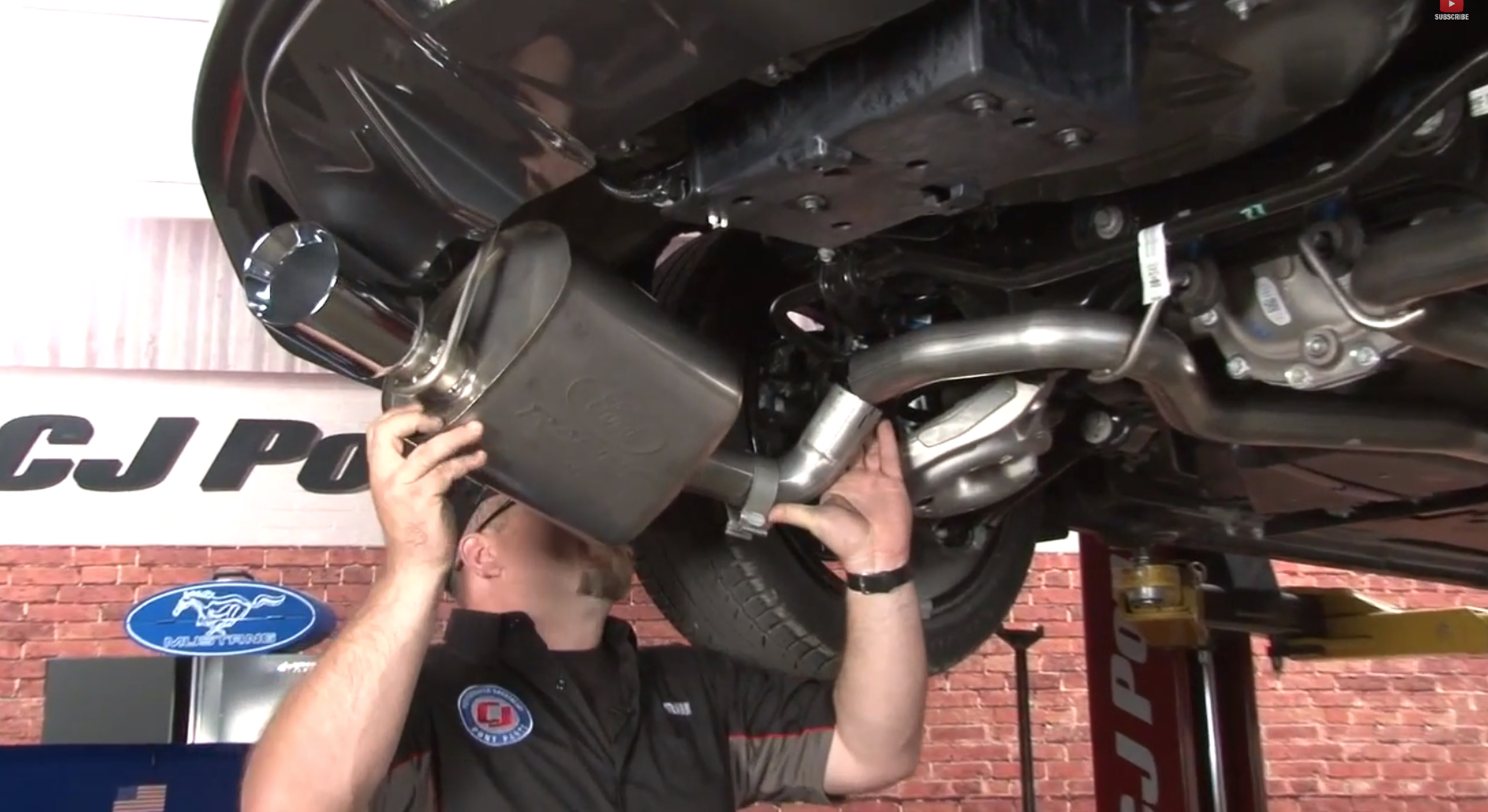 Video  Mustang Gt Ford Racing Sport Catback Exhaust Install And Sounds