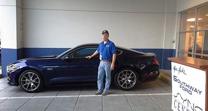 First Kona Blue 50 Year Limited Edition Mustang Delivered