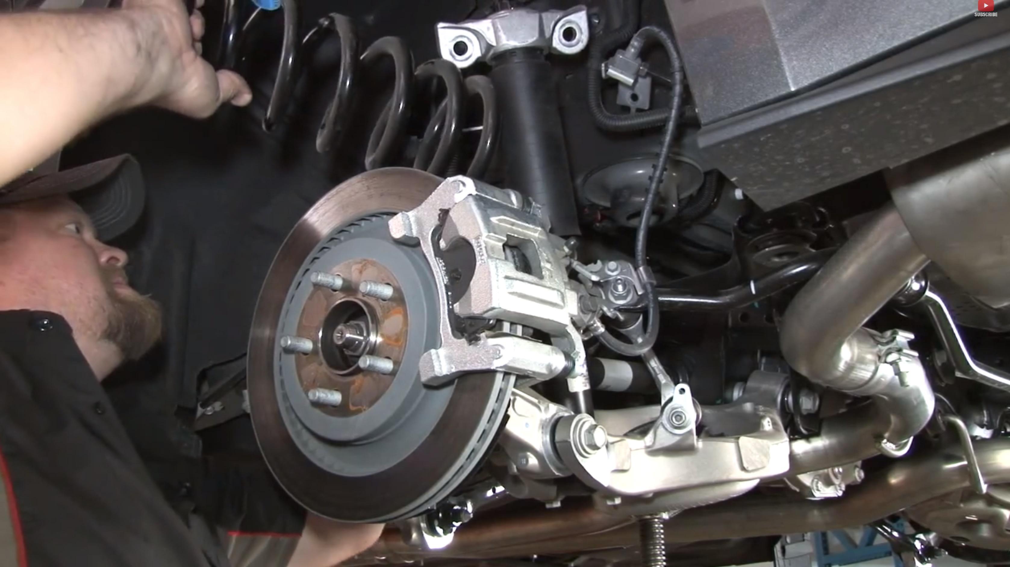 2015 Mustang Springs Install Diy Video 2015 Mustang