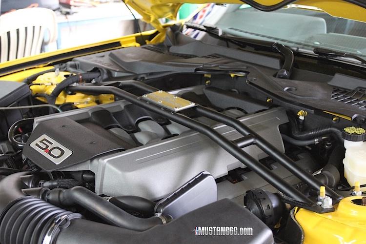 2015 Mustang GT Steeda Strut Tower Brace | 2015+ Mustang ...