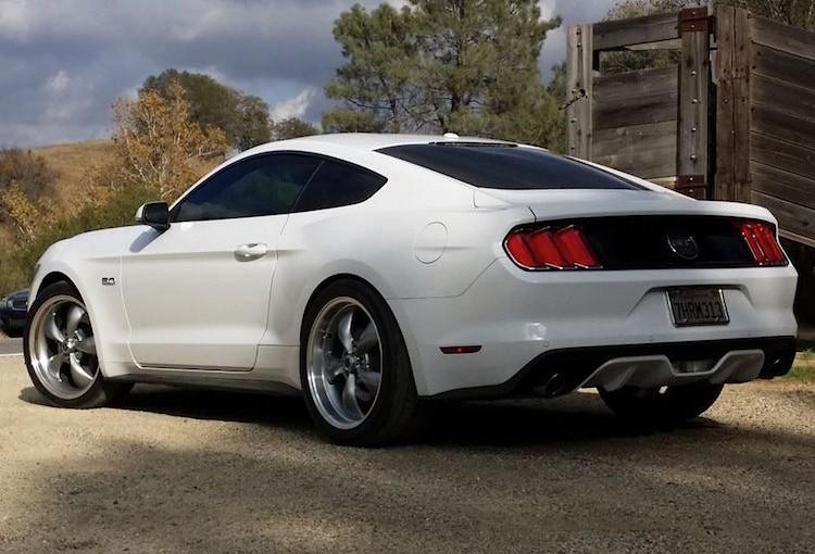 2015 Mustang GT Torq Thrust Wheels