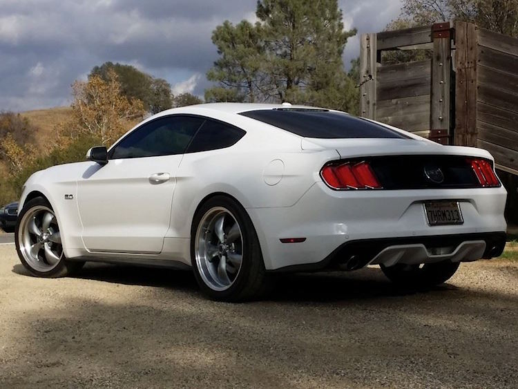 2015 Mustang Gt With Torq Thrust Wheels 2015 Mustang