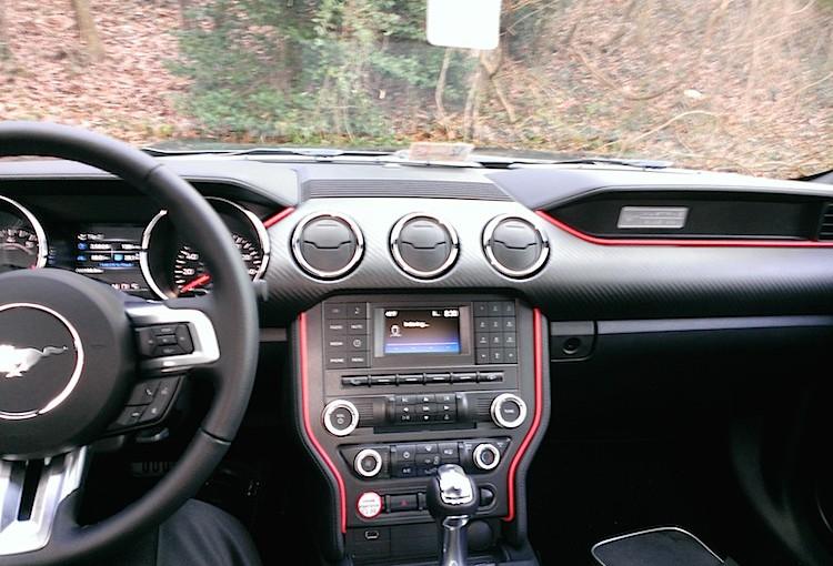 2015 Mustang Interior Mod