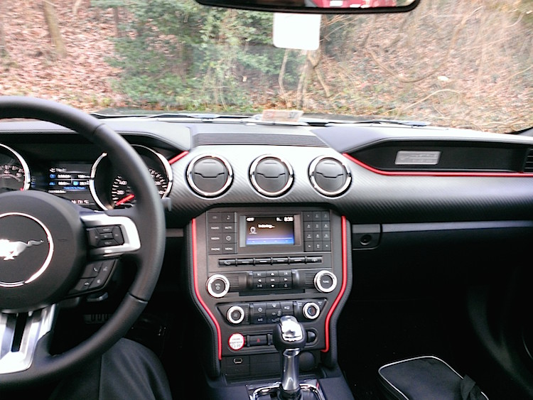Mod Of The Day 2015 Mustang Interior 2015 Mustang Forum News Blog S550 Gt Gt350 Gt500 I4