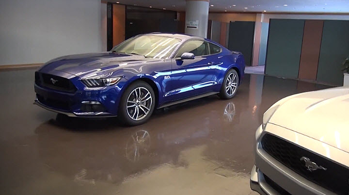 2015 Mustang Flat Rock Assembly Plant