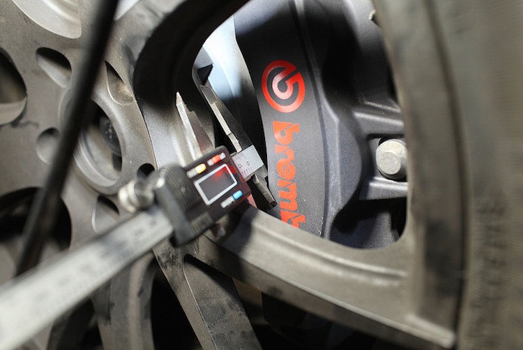 s550 mustang gt performance pack test fitted with s197