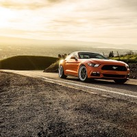 2015 Mustang GT Competition Orange