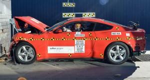 2015 Mustang Safety Crash Test